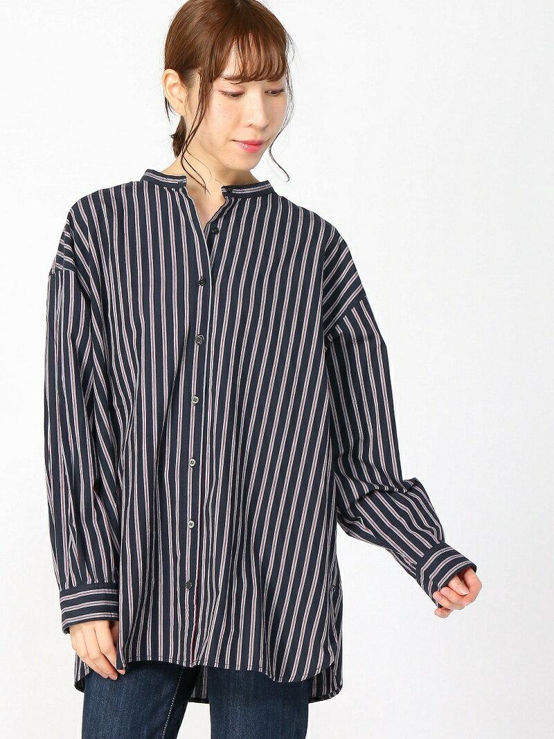 【SALE/50%OFF】studio CLIP コットンウールブロードシャツ[WEB限定プラスサイズ] スタディオクリップ シャツ/ブラウス【RBA_S】【RBA_E】