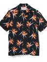 "RAWLIFE Aloha Blossom/アロハ ブロッサム/""BIRDS OF PARADISE"" ロウライフ シャツ/ブラウス 長袖シャツ ブラック …"