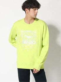 KENZO (M)HS19 Classic Tiger Sweatshirt Neon M ケンゾー カットソー スウェット イエロー ブラック【送料無料】