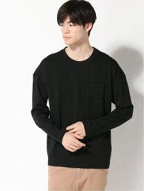 【SALE/50%OFF】BANANA REPUBLIC FACTORY STORE 日本限定長袖ボクシーTシャツ バナナ・リパブリック ファクトリーストアー カットソー Tシャツ ブラック グレー ネイビー ホワイト