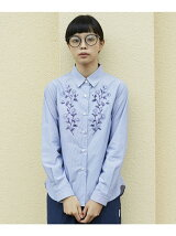 L&HARMONY/(W)Asami Hattori フラワープリントシャツ