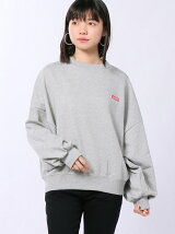 BIG SLEEVE SWEAT TOP/スウィット