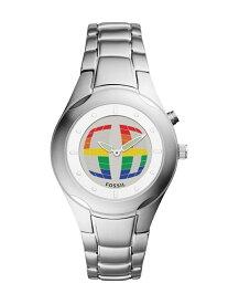FOSSIL BIG TIC フォッシル ファッショングッズ 腕時計 シルバー【送料無料】