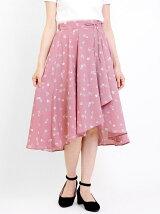 スプリングフラワースカート