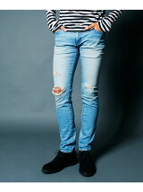 SUPER SKINNY STRETCH CRASH DENIM