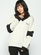 FILA SWEAT VNECK TOP