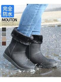 【SALE/20%OFF】AmiAmi 完全防水あったか防寒ブーツ アミアミ シューズ ショートブーツ/ブーティー ブラック グレー