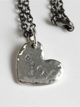 【ネックレス】Hammered Heart Hallmarks Pendant Head
