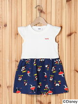MICKEY&MINNIE PRINT DRESS