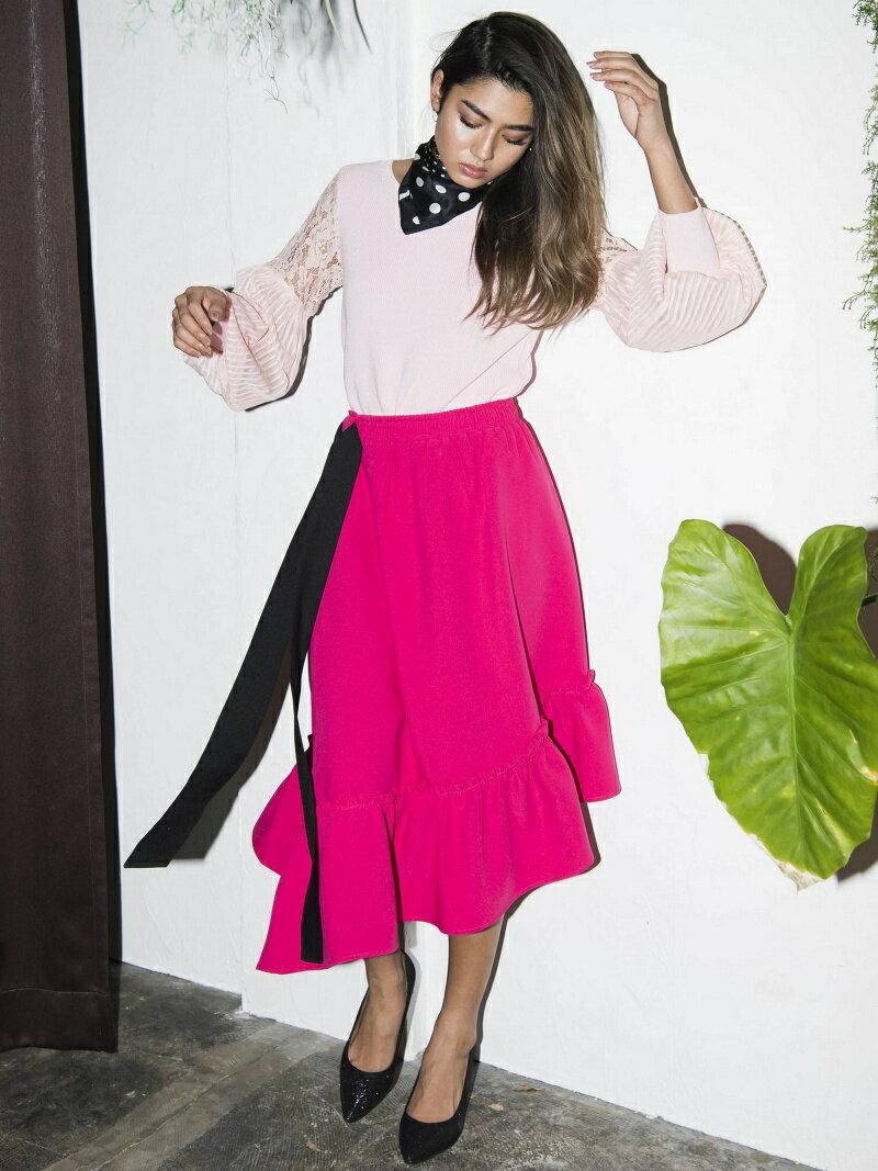 Million Carats アシメフレアスカート[DRESS/ドレス] ミリオンカラッツ スカート【送料無料】
