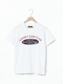【SALE/40%OFF】coen 【ウィメンズ】SUNNYSPORTS(サニースポーツ)別注USAコットンBEACHCLEANTシャツ コーエン カットソー Tシャツ ホワイト ネイビー