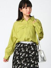LOWRYS FARM CPOシャツ ローリーズファーム シャツ/ブラウス【送料無料】