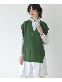 【SALE/10%OFF】CLEAR IMPRESSION 2WAYロングシャツ クリアインプレッション ワンピース チュニック ホワイト カーキ ブルー【送料無料】