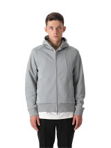 ATTACHMENT/CO/PE BRIGHT FLEECE ZIP UP HOODIE