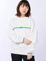 LINED RIB SWEAT TOP