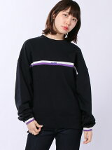LINED RIB SWEAT TOP/スウェット
