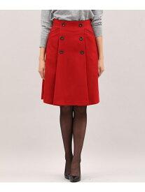 ef-de 《Magliecollection》フロントボタンAラインスカート エフデ スカート【送料無料】