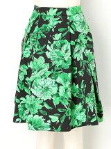 フラワーボリュームスカート