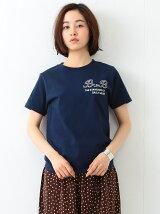 SCREEN STARS × BEMAS BOY / カレッジプリント Tシャツ ビームスボーイ