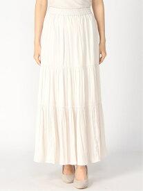 【SALE/42%OFF】LOWRYS FARM サテンティアードスカート ローリーズファーム スカート スカートその他 ホワイト カーキ グレー ピンク