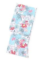 花柄単品浴衣
