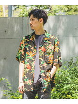 <<予約>>【TWO PALMS HAWAIIAN WEAR】別注 DYED ALOHA SHIRT