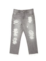 C5 DISTRESSED RELAX JEAN