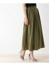 ビンテージサテンマキシスカート
