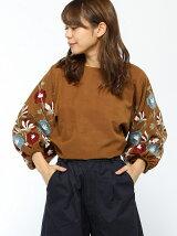 刺繍入りボリューム袖BL
