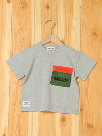 【SALE/50%OFF】メッシュポケット付き半袖Tシャツ ブランシェス カットソー【RBA_S】【RBA_E】