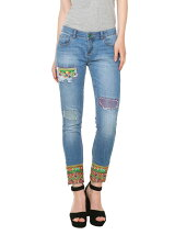 DENIM_ETHNIC ANKLE