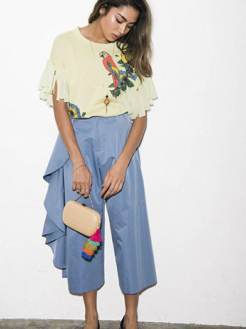 Million Carats アシメフリルパンツ[DRESS/ドレス] ミリオンカラッツ パンツ/ジーンズ【送料無料】