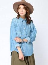 オーバーサイズシャツ/LS