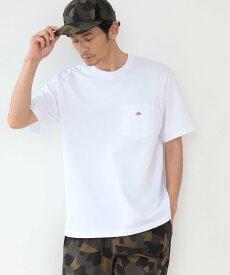 B:MING by BEAMS DANTON / ポケット Tシャツ BEAMS ビームス ビーミング ライフストア バイ ビームス カットソー Tシャツ ホワイト レッド ブラウン グリーン【送料無料】