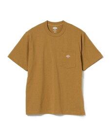 B:MING LIFE STORE by BEAMS DANTON / ポケット Tシャツ ビーミング ライフストア バイ ビームス カットソー Tシャツ ブラウン ホワイト レッド イエロー【送料無料】