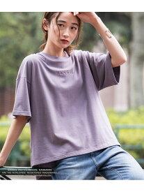 【SALE/40%OFF】ViS 【KANGOL×ViS】Tシャツ ビス カットソー カットソーその他 パープル ブラック ホワイト ベージュ