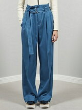 mat worsted two tuckwide pants
