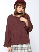 【RETRO GIRL】太チョーカー付リブニットソー