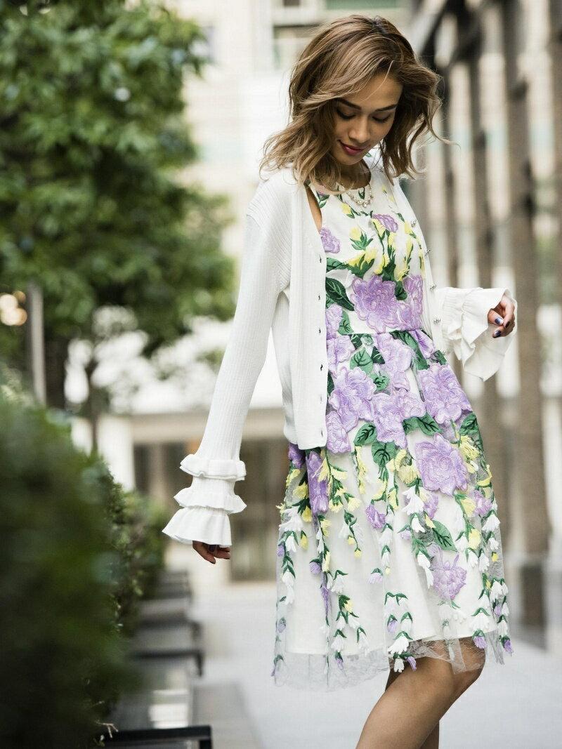 Million Carats springフレアカーディガン[DRESS/ドレス] ミリオンカラッツ ニット【送料無料】