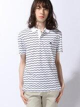 (M)ボーダーポロシャツ (半袖)