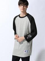 CP 7分袖 ラグラン ビッグTシャツ