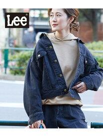 【SALE/15%OFF】【WEB限定】【Lee(リー)】ルーズデニムジャケット ロペピクニック コート/ジャケット【RBA_S】【RBA_E】【送料無料】