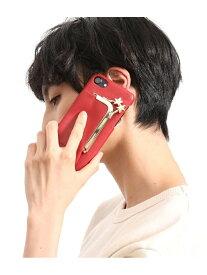 【SALE/30%OFF】ROPE' mademoiselle 【WEB限定】【HASHIBAMI】iPhoneケース(6/6s/7/8対応) ロペ ファッショングッズ 携帯ケース/アクセサリー レッド ブラック