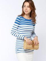 (W)ボーダーTシャツ (長袖)