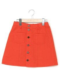 【SALE/50%OFF】repipi armario マエボタンスカパン20AW レピピアルマリオ スカート キッズスカート オレンジ グリーン ブラック パープル ピンク ブルー