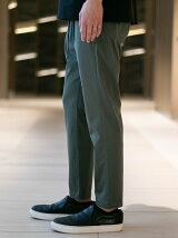 ATTACHMENT/HIGH GAUGE JERSEY ONE PLEAT EASY PANTS