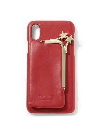 【SALE/50%OFF】ROPE' mademoiselle 【WEB限定】【HASHIBAMI】iPhoneケース(X/XS対応) ロペ ファッショングッズ 携帯ケース/アクセサリー レッド ブラック