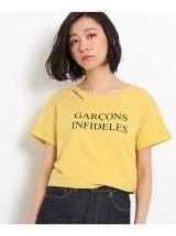 GARCONS INFIDELES ロゴTシャツ