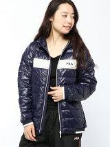 (W)ダウン フード付きジャケット