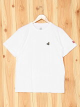 (K)ショートスリーブバックプリントTシャツ